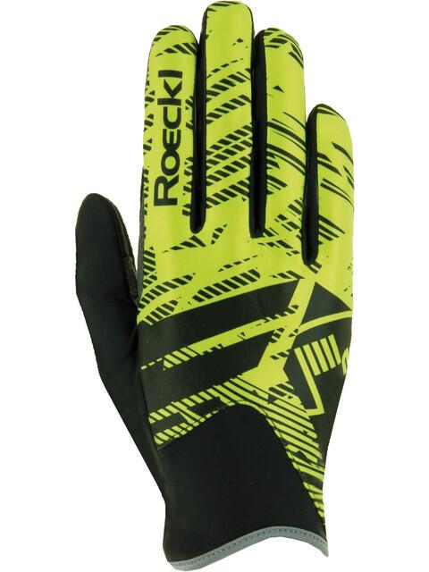 Roeckl Livo Gloves yellow/black